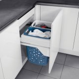 Laundry basket - Laundry hamper with full extension