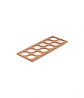 Spice jar insert (4) for kitchen cutlery trays (12 spice jars)