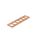 Spice jar insert (3) for kitchen cutlery trays (6 spice jars)