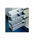 Hailo Aluline Undersink Pull-Out Unit