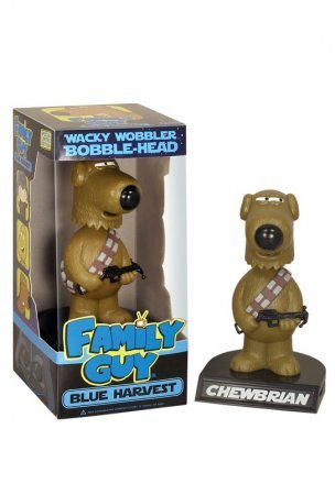amily Guy - Blue Harvest - Chew-Brian Wacky Wobbler - Limited Edition Wacky Wobbler - at maxisale.com.au