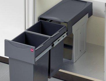 Hailo Tandem 30 Waste Bin Gt Kitchen Storage And