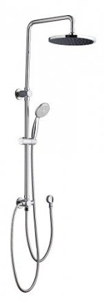 SMH-157 ROUND MULTI FUNCTION SHOWER UNIT (SOLID BRASS RAIL WITH ELBOW)