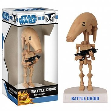 STAR WARS CLONE WARS BATTLE DROID WACKY WOBBLER AT MAXISALE.COM.AU