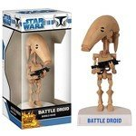 STAR WARS - CLONE WARS BATTLE DROID WACKY WOBBLER