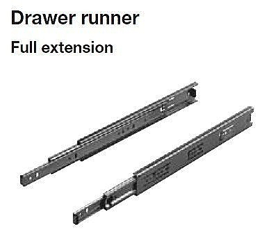 FULL EXTENSION DRAWER RUNNER