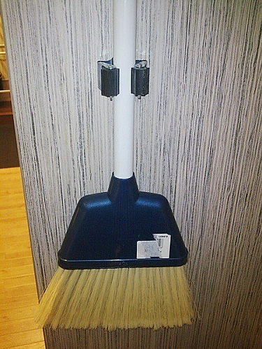 BROOMSTICK HOLDER - Laundry and Kitchen Accessories