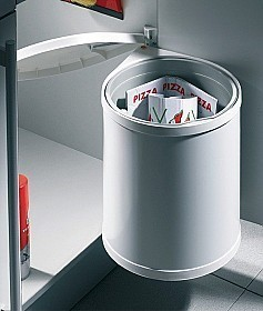 Single waste bin 15 litres Hailo Mono